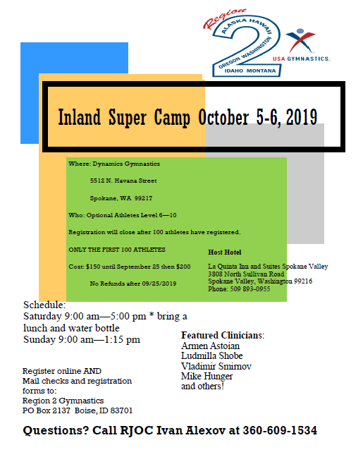 Inland Super Camp 2019 Image