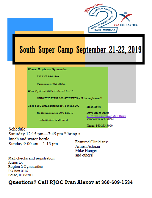 South Super Camp 2019 Image