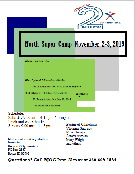 North Super Camp 2019 Image