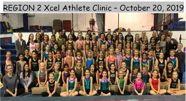 Xcel Reg 2 Clinic Oct 2019